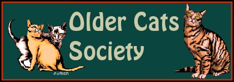 Older Cats Society Banner by Gigi